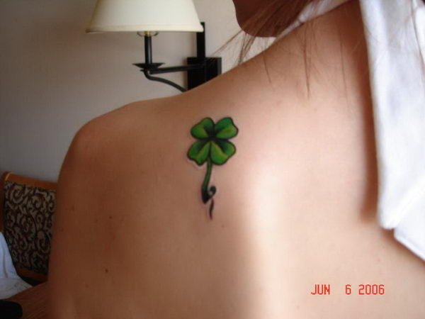 9 shoulder blade tattoo