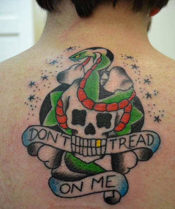 20 Dont Tread On Me Tattoo Designs Hative