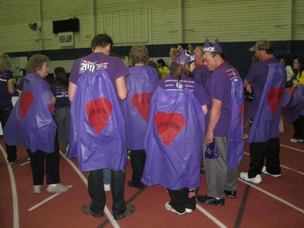 Superhero Capes for Survivors,