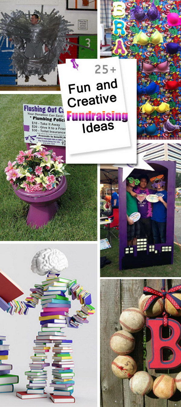 25+ fun and creative fundraising ideas - hative
