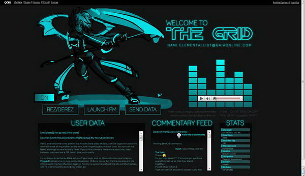 15 Cool Gaia Profile Layout Ideas Hative