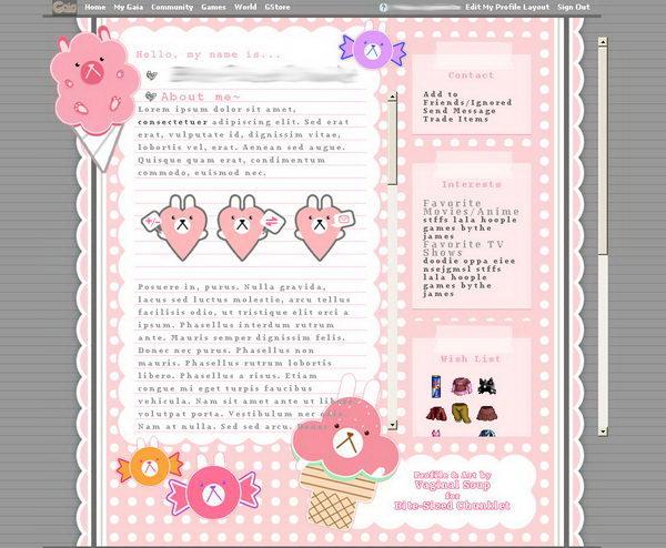 5 pink giga profile
