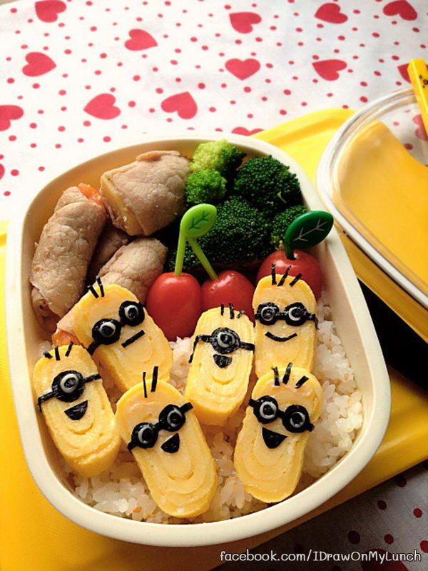 40 creative bento box lunch ideas for kids hative. Black Bedroom Furniture Sets. Home Design Ideas