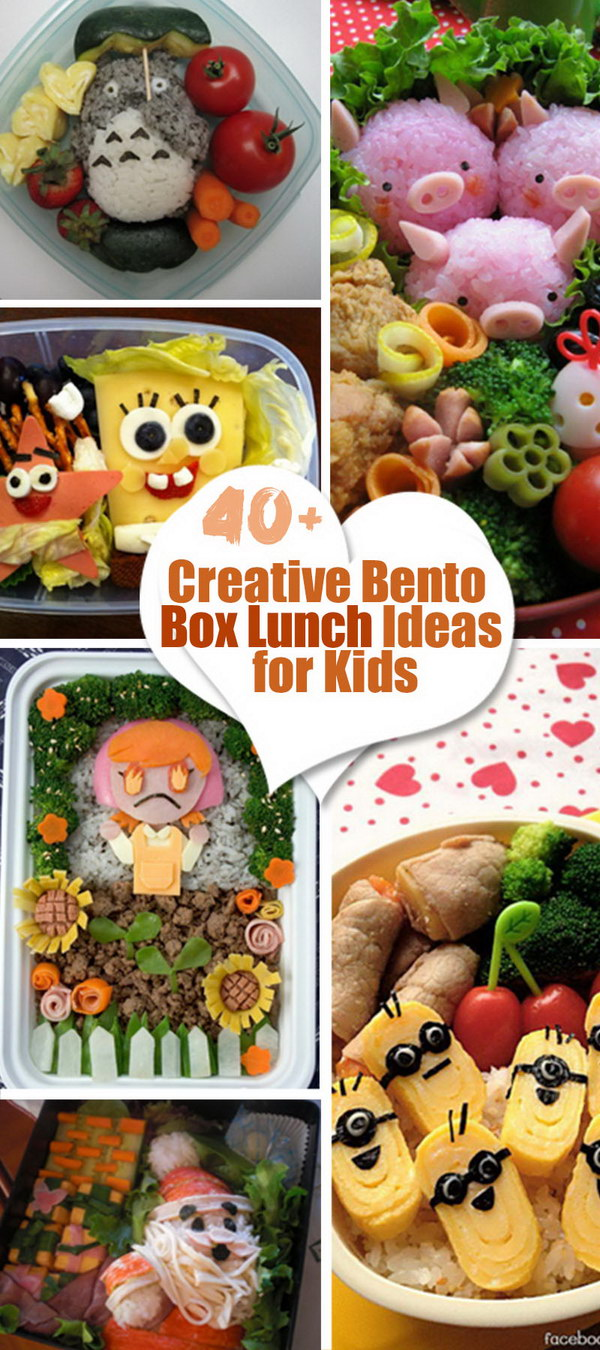 Creative Bento Box Lunch Ideas for Kids! & 40+ Creative Bento Box Lunch Ideas for Kids - Hative Aboutintivar.Com