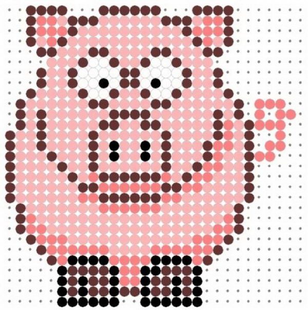 40 Cool Perler Bead Patterns - Hative