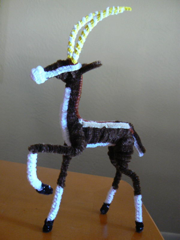 28 pipe cleaner antelope