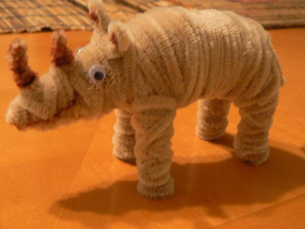 36 pipe cleaner rhino