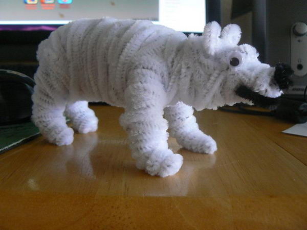 42 homemade polar bear