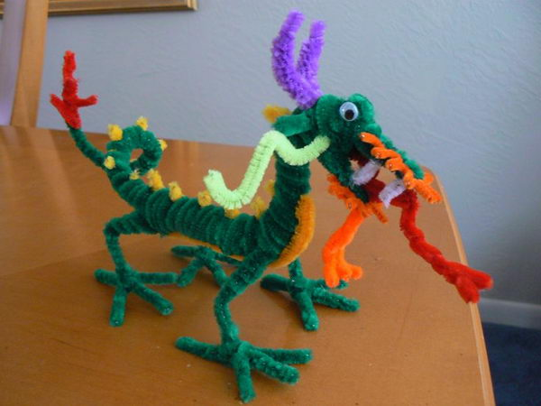 5 diy chinese dragon
