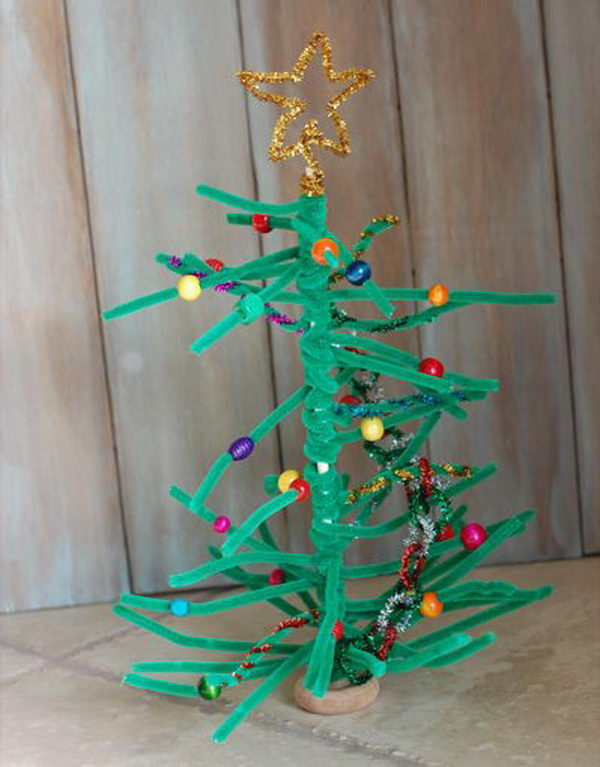 10 homemade christmas tree