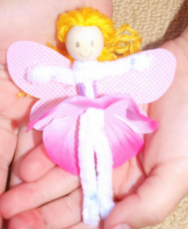 16 fairy pip cleaner crafts