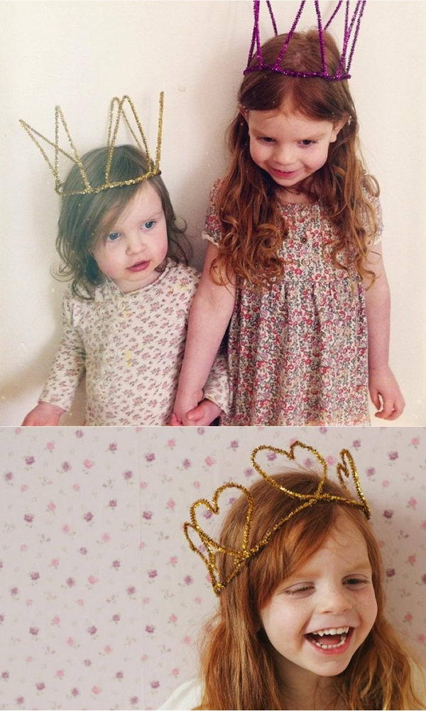 22 simple crown for kids
