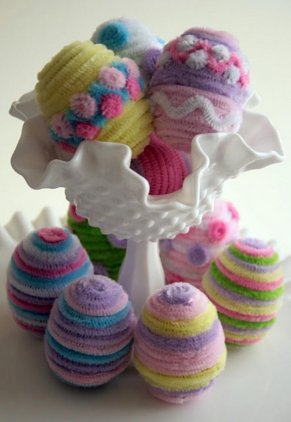Easter Flowers Images: 80+ Cool Pipe Cleaner Crafts
