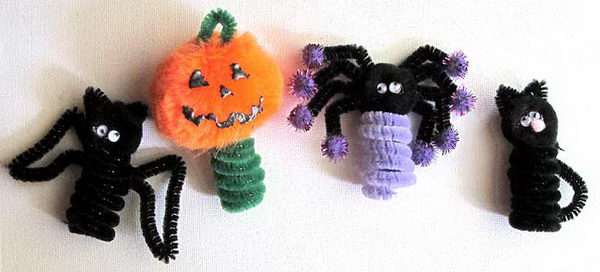 32 halloween crafts pip cleaner