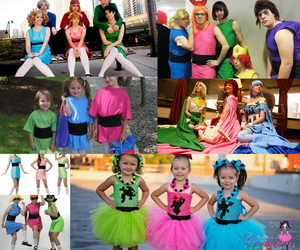 10 power puff girls group costume ideas