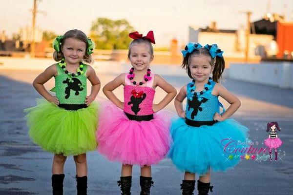 1 power puff little girls  sc 1 st  Hative & 10+ Power Puff Girls Group Costume Ideas - Hative