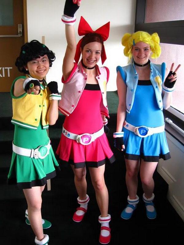 11 Powerpuff Girls Homemade