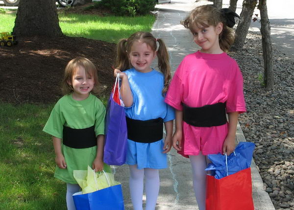 2 superhero birthday party ideas  sc 1 st  Hative & 10+ Power Puff Girls Group Costume Ideas - Hative