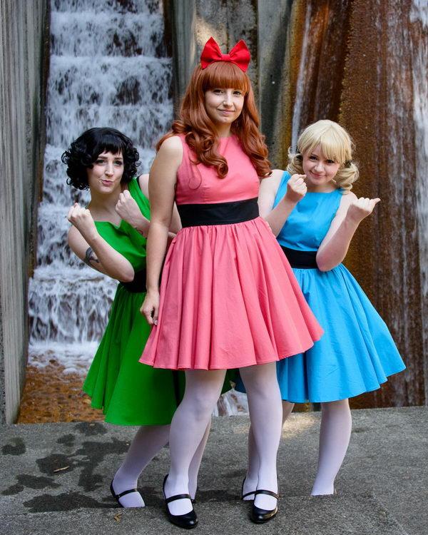 10+ Power Puff Girls Group Costume Ideas , Hative