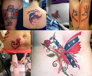 rebel-flag-tattoos-collage