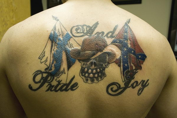 12 pride and joy with rebel flag
