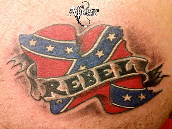 15 rebel flag tattoo