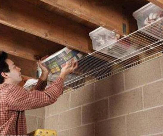20 Cool Basement Ceiling Ideas: 20 Clever Basement Storage Ideas