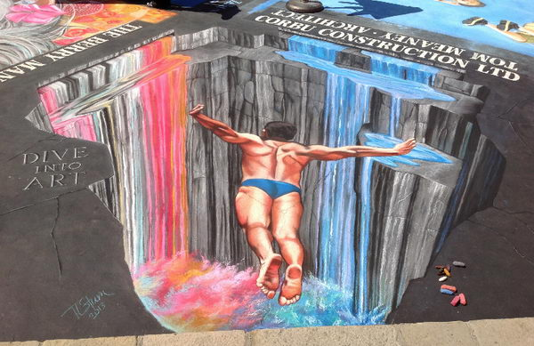 Dive into Art 3D Street Art.