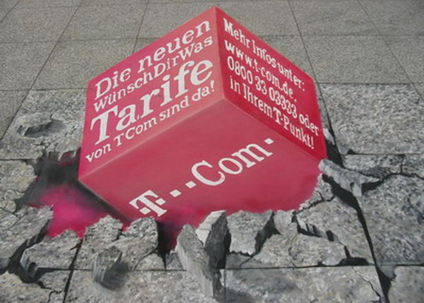 3D Street Painting Advertising.