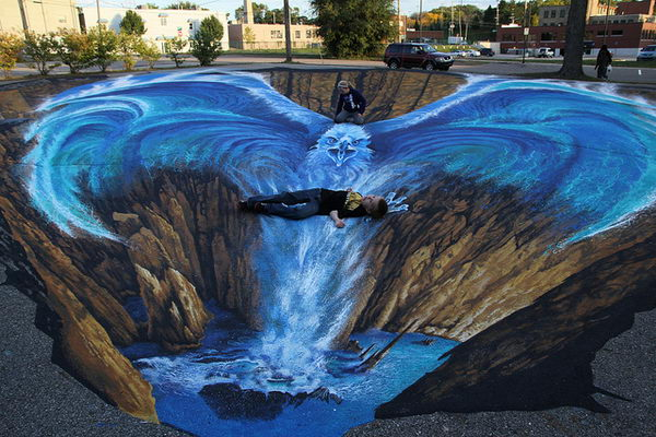 30 Amazing 3d Street Art Hative