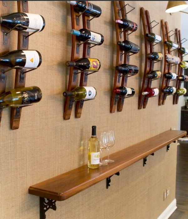 20 creative basement bar ideas hative for How to build a wall bar