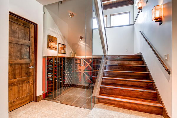 basement wet bar under stairs. Staircase Bar 20  Creative Basement Ideas Hative