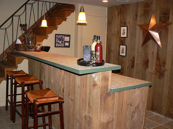 Superb Basement Bar By Jayekellie