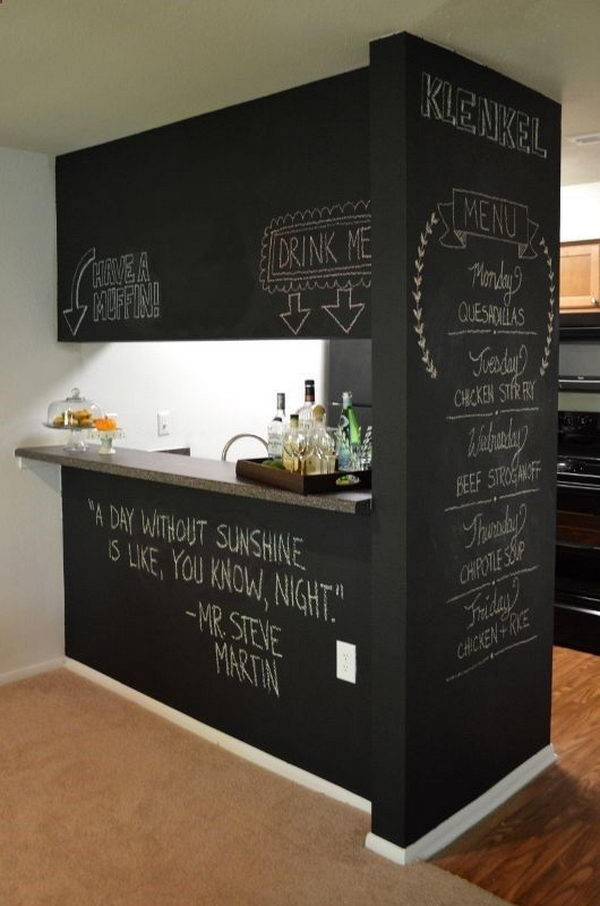 Brilliant Kitchen Chalkboard Wall Ideas 600 x 906 · 66 kB · jpeg