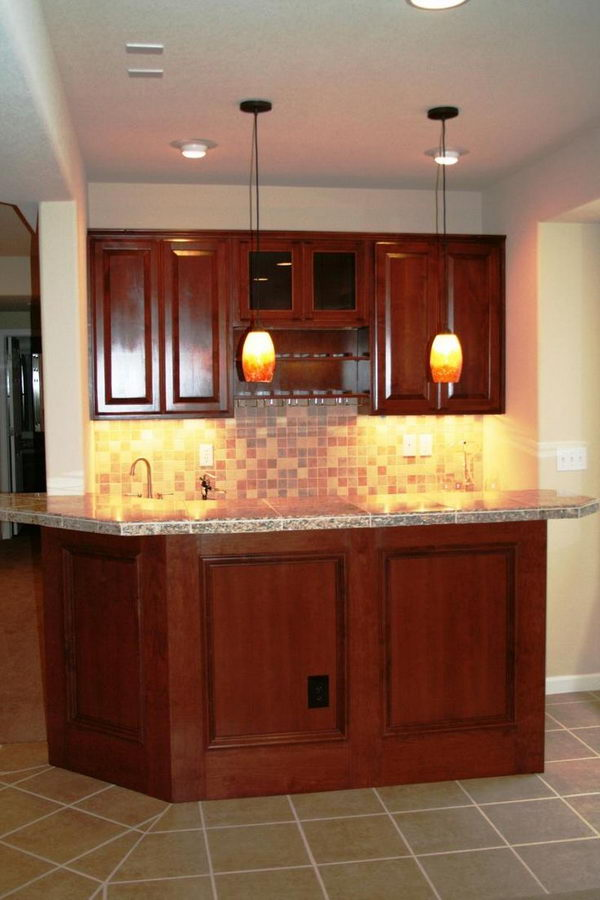 20 creative basement bar ideas hative - Basement wet bar design ...