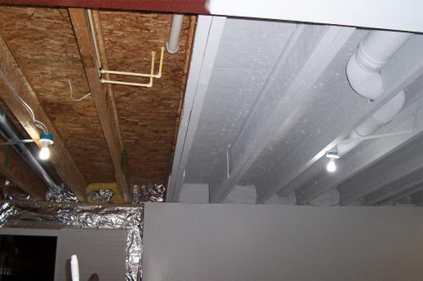 basement ceiling ideas cheap 20 cool basement ceiling ideas hative