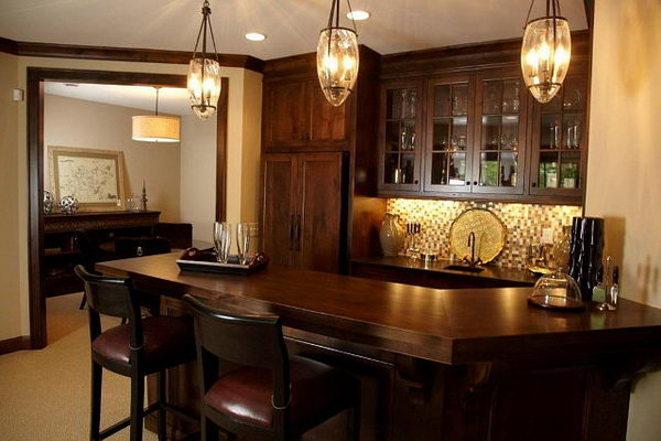 Basement Stair Ceiling Lighting: 20 Cool Basement Lighting Ideas