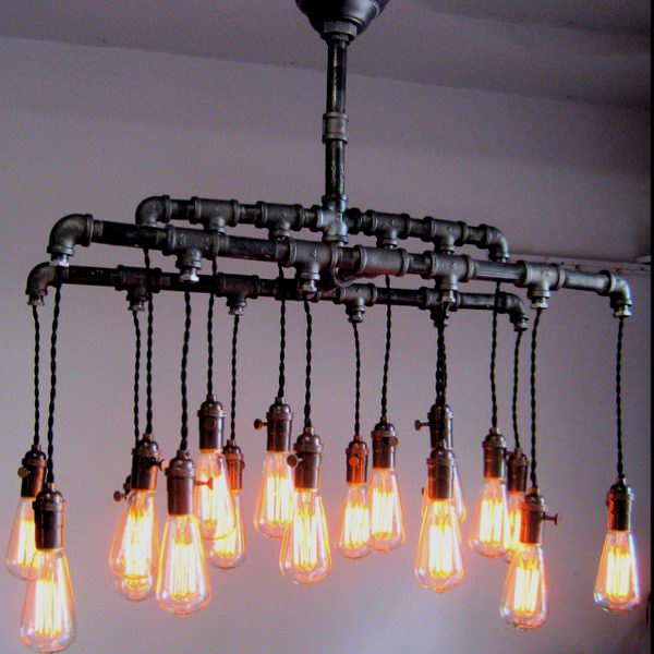 Cozy Basement Lighting,