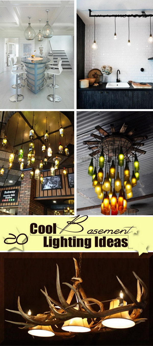 20 Cool Basement Lighting Ideas Hative