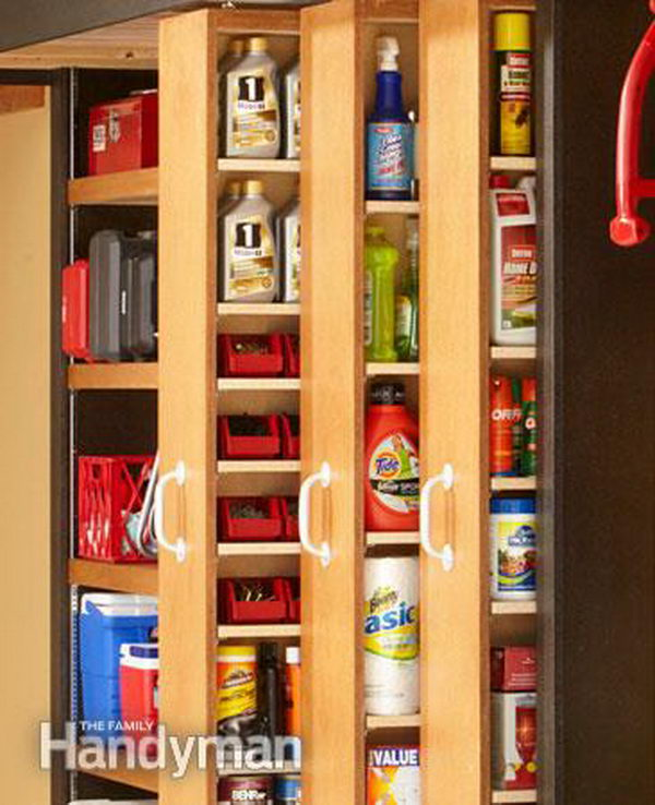 Space Saving Sliding Shelves. There never seems to be enough storage space in garages, but rollout shelves and sliding bypass units can make more efficient use of the sidewalls of your garage.