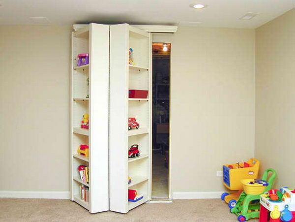 20 clever basement storage ideas hative - Finished basement storage ideas ...
