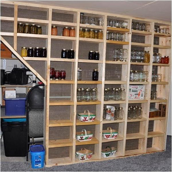 20 clever basement storage ideas hative ForBasement Storage Ideas