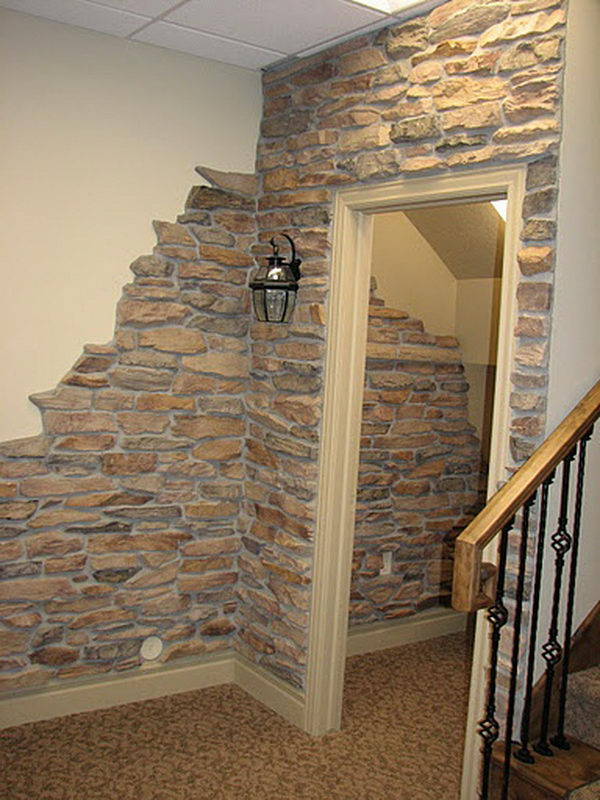 painting concrete walls20 Clever and Cool Basement Wall Ideas  Hative