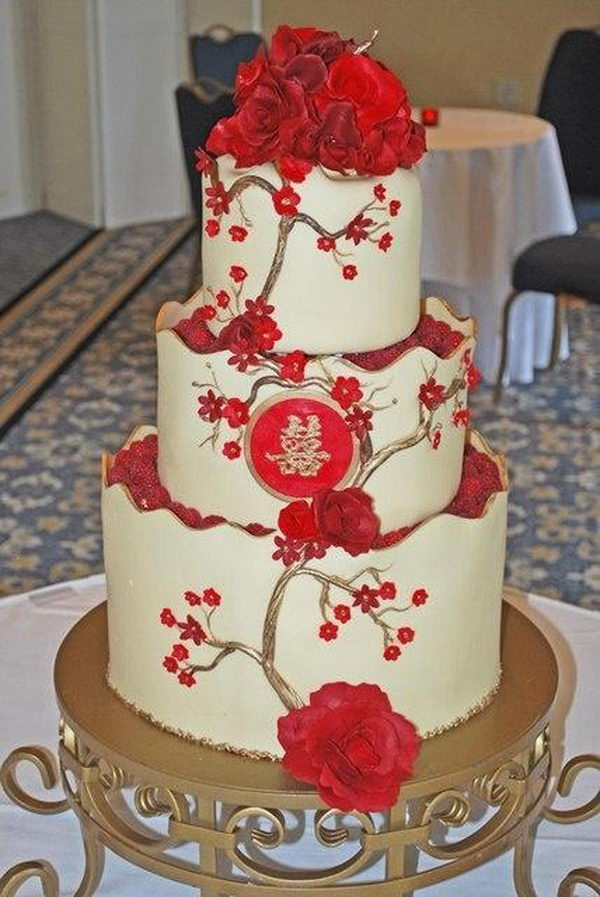 Wedding Cake Chinois