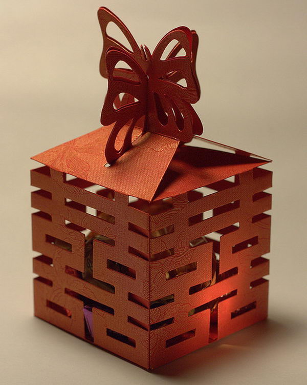 Chinese Wedding Favor Box