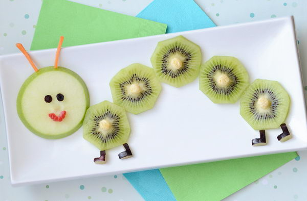 Make Food Fun: Fruity Caterpillar Snack Edible Arrangement For Kids