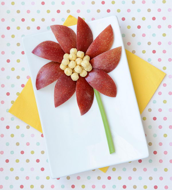 Make Food Fun: Flower Snack Edible Arrangement