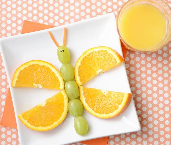 Fruity Butterfly Snack Edible Arrangment,