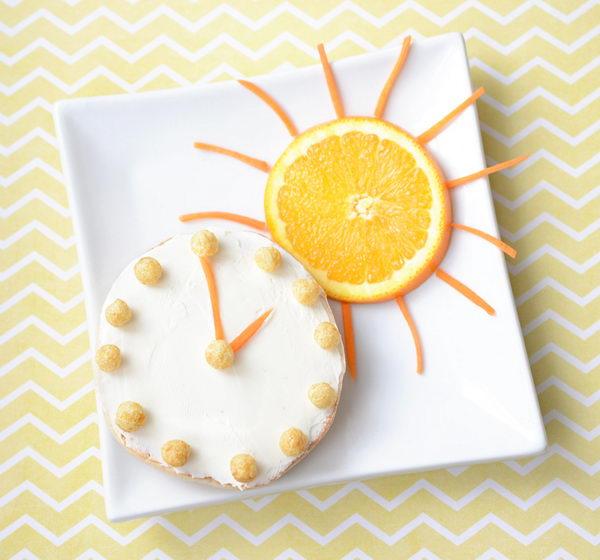 Make Food Fun: Daylight Savings Edible Arrangement