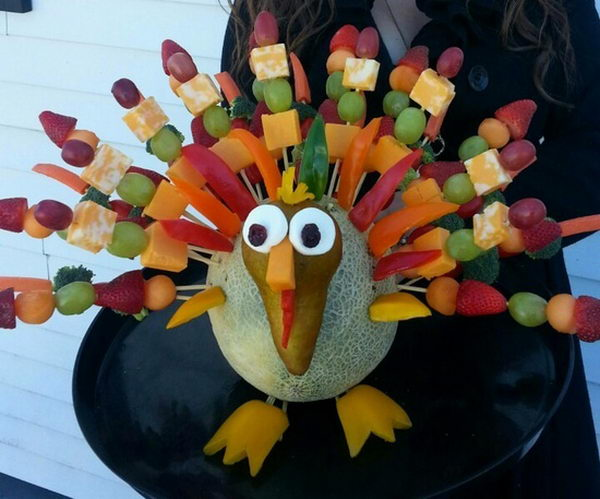 Thanksgiving Edible Arrangement
